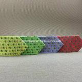 Legami del collo stampati abitudine di seta pura all'ingrosso per gli uomini