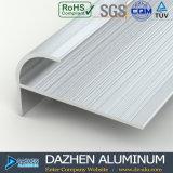 Profil personnalisé anodisé par aluminium en aluminium de garniture de tuile
