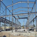 Structure métallique pré conçue bon marché de construction préfabriquée pour l'Afrique