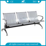 Sitzqualitäts-Material-Krankenhaus-Wartestuhl des Edelstahl-AG-Twc001 des Spant-drei