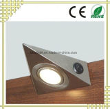 Luz do gabinete do diodo emissor de luz do triângulo