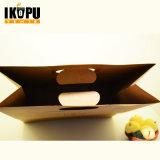 Bolsa de papel Kraft ecológica para pão e compras