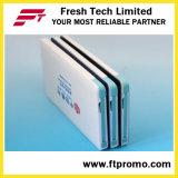 Personalizado 2600mAh Slim Cargador de banco de energía de la tarjeta de crédito para la promoción (C504)