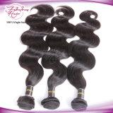 preiswerte Wellen-peruanisches Menschenhaar Remy Jungfrau-Haar der Karosserien-8A