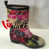 Rb caliente Rainboot de Kids&Ladies del estilo con la correa decorativa