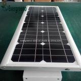 Tudo em um painel Mono-Solar solar do diodo emissor de luz da luz de rua 60W