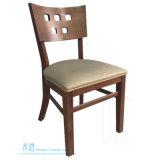 Cadeira de jantar de madeira moderna para o café do restaurante (HW-008C)