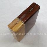 Contenitore impaccante di modo di Peal della collana di regalo di legno su ordinazione dei monili