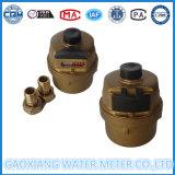 Messingshell-volumetrisches Kolben-Wasser-Messinstrument