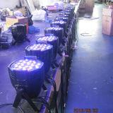 단계 54X3w RGBW 실내 LED 동위 빛