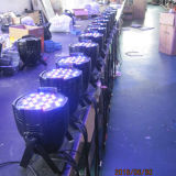 Luces de interior de la IGUALDAD de la etapa 54X3w RGBW LED