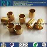 Qualitäts-Bronzezoll CNC-maschinell bearbeitenanschluß-Teil