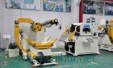 공작 기계에 있는 직선기 그리고 Uncoiler를 가진 코일 장 자동적인 지류 및 자동차 형에서 를 사용하는