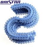 S-Tipo vendedor caliente separador azul ortodóntico dental el elástico del color