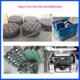 China LED de la colada 36PCS * 12W RGBW luz principal móvil