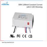 Excitador aprovado do diodo emissor de luz de RoHS 50W 25~40V Dimmable do Ce