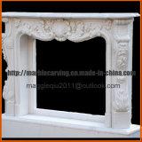 대리석 벽난로 실내 장식 벽난로 벽로선반 주위 Mf1706