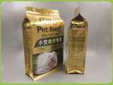 Il sacchetto dell'alimento per animali domestici, si leva in piedi in su il sacchetto, pacchetto dell'alimento
