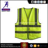 Vest van de Veiligheid van pvc van het Netwerk van de Polyester van 100% het Weerspiegelende