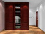De houten 2 Garderobes van de Slaapkamer van de Ontwerpen van het Meubilair van het Huis van de Opslag van het Kabinet van de Deur (ul-WR064)