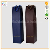 Caixa de presente de papel de empacotamento do Wineglass e do vinho