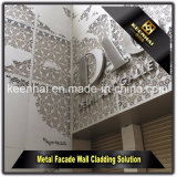 Revêtement en aluminium de mur de panneau extérieur de façade de matériau de construction en métal