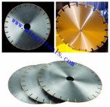 12 adentro. Lámina dividida en segmentos superior del diamante del borde para los materiales suaves