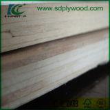 Material decorativo de la madera contrachapada comercial con el espesor 2-18m m