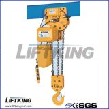 Grua Chain elétrica de levantamento Chain dobro da capacidade da queda 3t