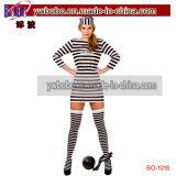 謝肉祭の衣裳の道化師党デザインの凝った服の衣裳のサーカスのこっけい者(BO-1008)