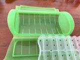 Случай/контейнер пара силикона пластичного материала использования микроволны