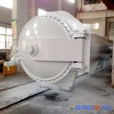 fibra industrial do carbono de 1500X7500mm ASME que cura o sistema de produção