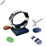 Frauen-Qualitäts-neues Modell-Edelstahl-Modezircon-Armband