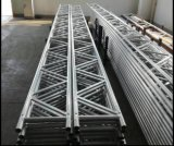 A liga do andaime irradia o feixe da estrutura do alumínio 450mm