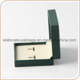Mini contenitore all'ingrosso Handmade di cuoio di orecchino del contenitore di monili