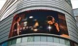 Tabellone per le affissioni curvo esterno creativo di P10 LED Digital (sistema di Linsn)