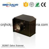 Varredor quente do Galvo do laser da venda Js2807 para a marcação e a estaca do couro do metal