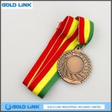 De antieke Gift van de Herinnering van het Muntstuk van de Medaille van de Gravure van de Douane van de Medaille van het Messing