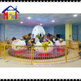 O Kiddie do Merry-Go-Round do dinossauro do parque temático do divertimento monta o equipamento do brinquedo