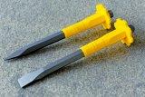 4PCS CrVの木工業のための快適なハンドルが付いている鋼鉄木工用彫刻刀セット