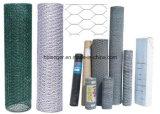 Rete metallica esagonale galvanizzata ricoperta PVC