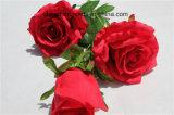 공장 직매 훈장을%s 싼 고품질 인공적인 로즈 꽃 가짜 Rosa 꽃