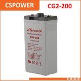 Solargel-Batterie des China-Zubehör-2V200ah - Tankstelle, Telekommunikationssystem,