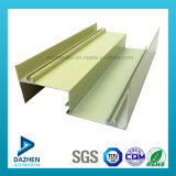 Perfil de aluminio para ventana de la puerta abatible con marco personalizado Tamaño / Color