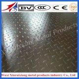 Plaque Checkered certifiée par OIN de l'acier inoxydable 316L pour l'ascenseur