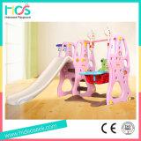 Corrediça plástica interna favorita e balanço das meninas cor-de-rosa do estilo ajustados (HBS17030C)