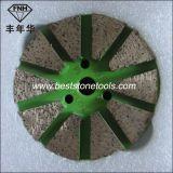 Металла этапа диаманта велкроего пусковая площадка заднего меля для бетона