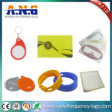 Wristbands impermeables de la frecuencia dual RFID para los centros de aptitud