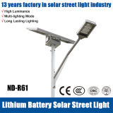 IP65 luz de calle solar de la alta calidad 60W 80W LED
