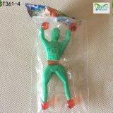 Al por mayor en los juguetes pegajosos pegajosos de los hombres TPR de la pared de los juguetes divertidos a granel para los niños